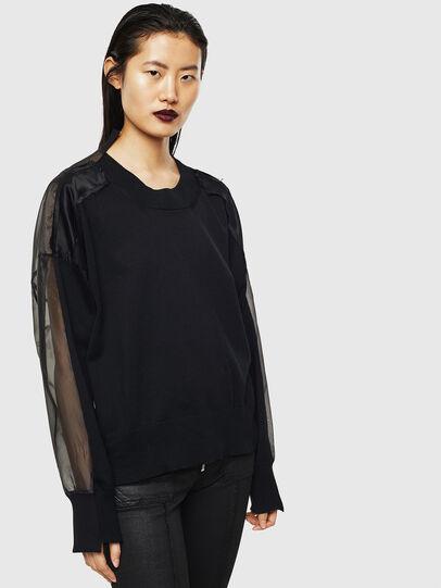 Diesel - MOLLYS, Black - Sweaters - Image 6