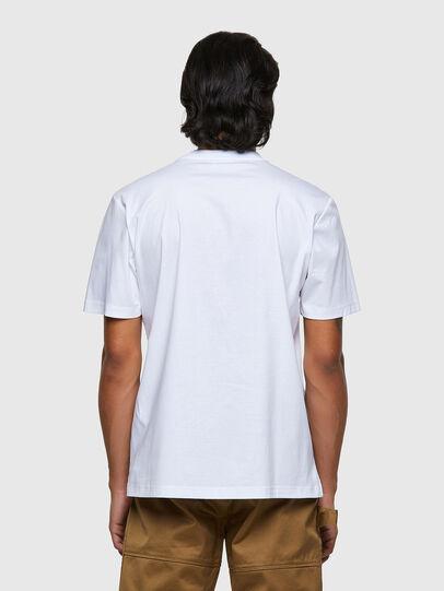 Diesel - T-JUSMER, Blanco - Camisetas - Image 2