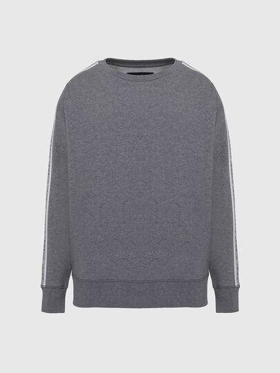 Diesel - UMLT-WILLY, Grey - Sweatshirts - Image 1