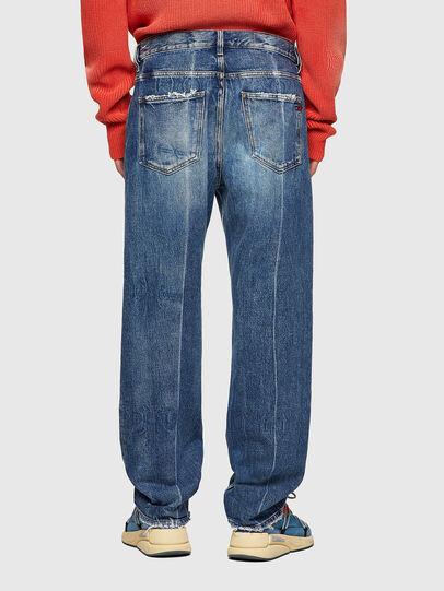 Diesel - D-Macs Straight Jeans 09A25, Medium Blue - Jeans - Image 2