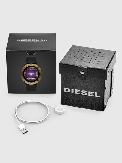 Diesel - DT2016, Black/Bronze - Smartwatches - Image 5