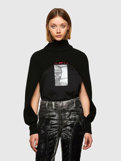 Diesel - M-BENAZIR, Black - Sweaters - Image 1
