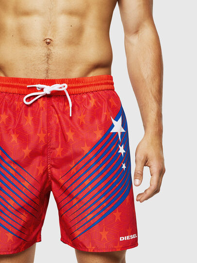 Diesel - BMBX-WAVENEW, Red - Swim shorts - Image 3