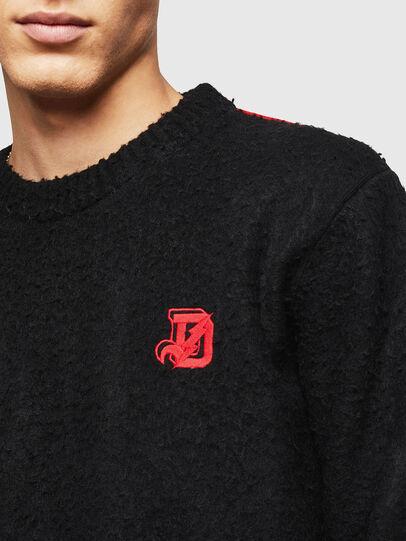Diesel - K-CASY, Black - Sweaters - Image 3