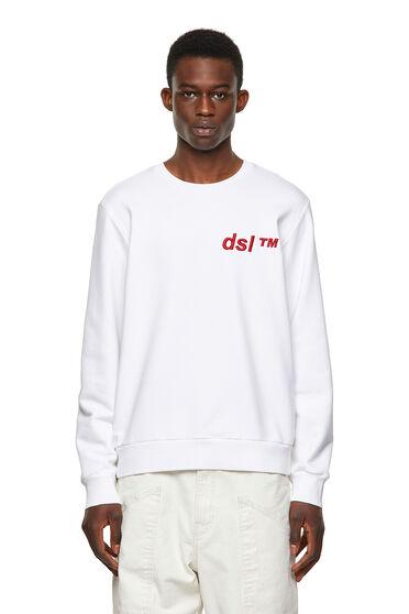 Green Label sweatshirt with DSL™ logo