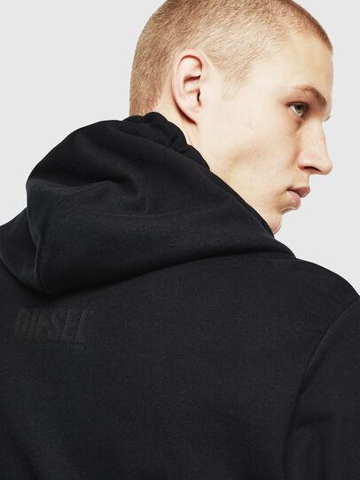 Diesel - S-GIRK-HOOD-J2, Black - Sweatshirts - Image 3