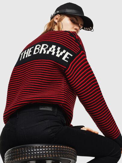Diesel - K-BALLIS, Red/Black - Sweaters - Image 6
