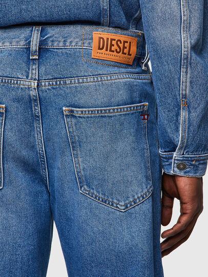 Diesel - D-Macs Straight Jeans 009MG, Medium Blue - Jeans - Image 4