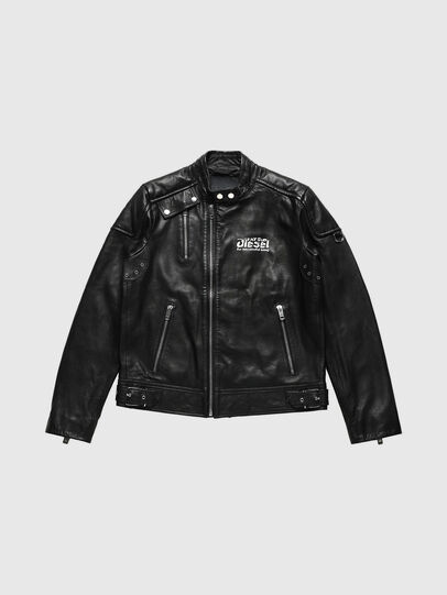 Diesel - US-L-CODY, Black - Leather jackets - Image 1
