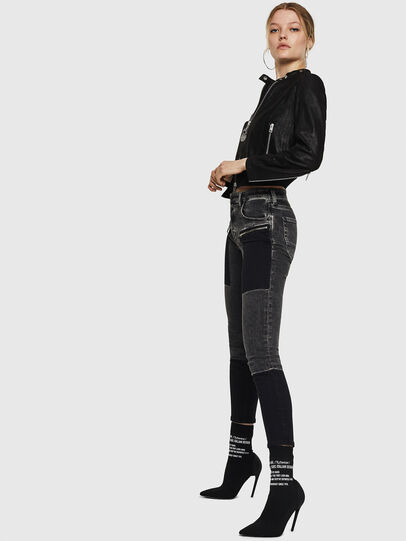 Diesel - L-LYSSA-G, Black - Leather jackets - Image 6
