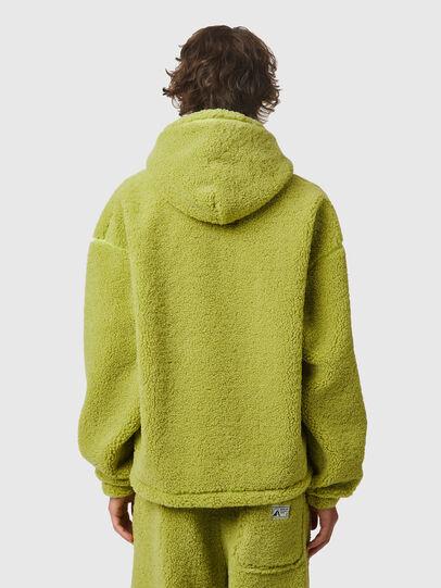 Diesel - S-UMMEREDDY, Yellow - Sweatshirts - Image 3