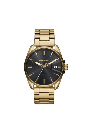 MS9 Chrono gold-tone steel watch, 44 mm