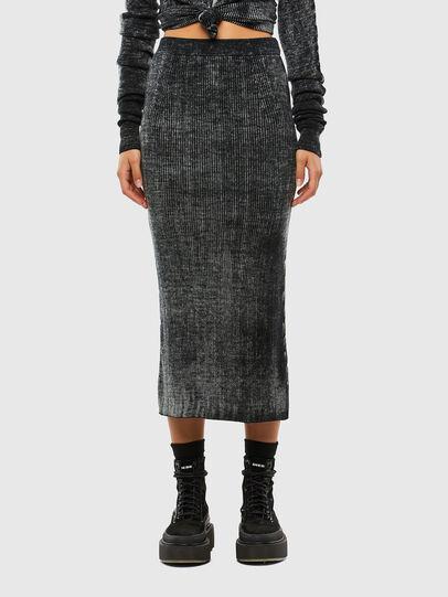 Diesel - M-ISLA, Black - Skirts - Image 1