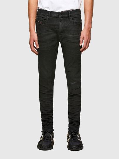 Diesel - D-Amny Skinny Jeans 009PZ, Black/Dark Grey - Jeans - Image 1