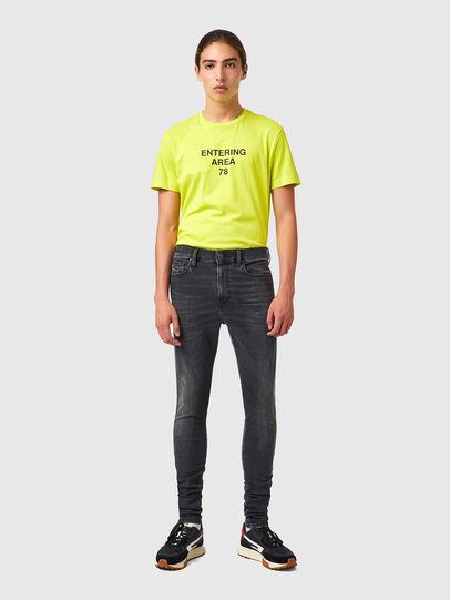 Diesel - D-Istort Skinny Jeans 069YC, Black/Dark grey - Jeans - Image 5