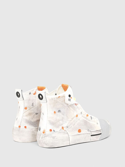 Diesel - S-DESE SCT, White/Orange - Sneakers - Image 3