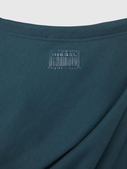 Diesel - F-REVERT, Water Green - Sweatshirts - Image 5