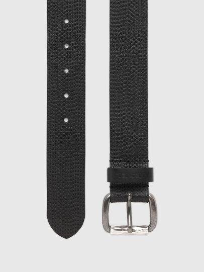 Diesel - B-ROLLY, Black Leather - Belts - Image 3