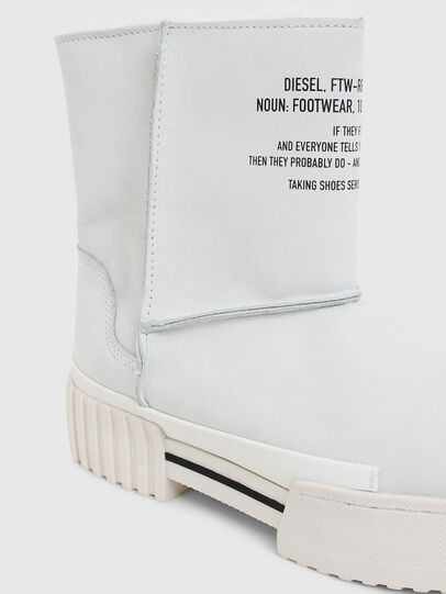Diesel - H-MERLEY AB, White - Ankle Boots - Image 4
