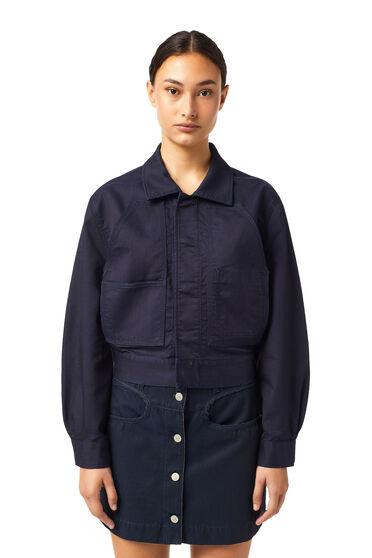 Cropped jacket in JoggJeans