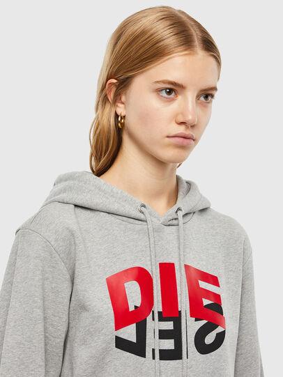 Diesel - S-GIRK-HOOD-N1, Grey - Sweatshirts - Image 6