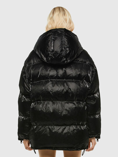 Diesel - W-DERK, Black - Winter Jackets - Image 2