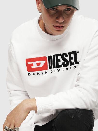 Diesel - S-CREW-DIVISION, White - Sweatshirts - Image 3
