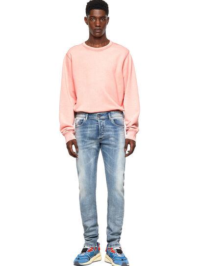 Diesel - Sleenker Skinny Jeans 009KL, Medium Blue - Jeans - Image 5
