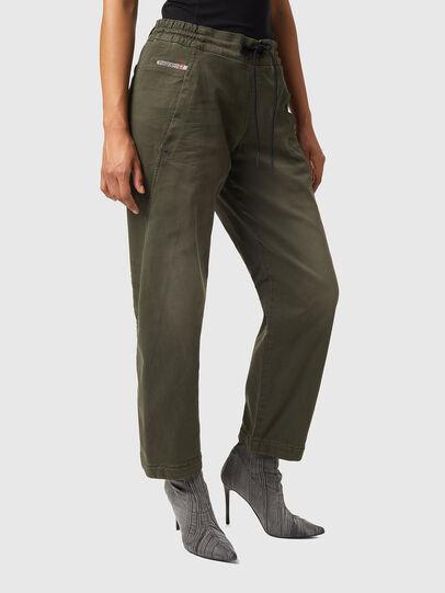 Diesel - Krailey Boyfriend JoggJeans® Z670M, Military Green - Jeans - Image 4