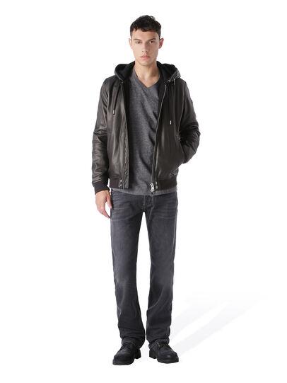 Diesel - Larkee 0669F, Black/Dark Grey - Jeans - Image 5