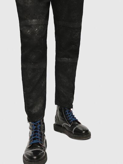 Diesel - Shibuia JoggJeans 069CQ, Black/Dark Grey - Jeans - Image 5