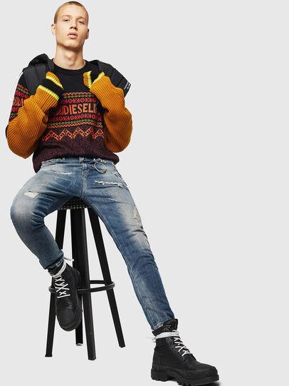 Diesel - K-CV-ALLJAC, Multicolor/Black - Sweaters - Image 4