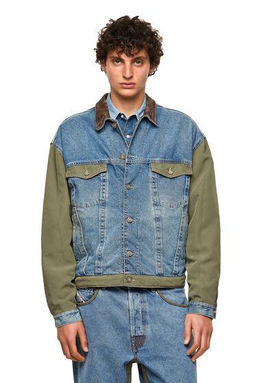 DieselXDiesel jacket with leather