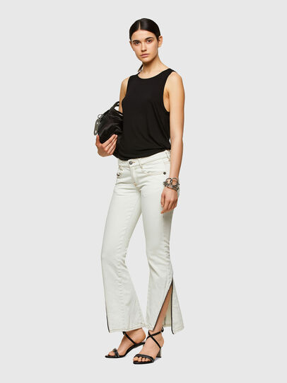 Diesel - D-Ebbey Bootcut Jeans 009ZA, White - Jeans - Image 6