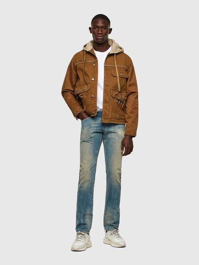 Diesel - D-Kras Slim Jeans 009JY, Light Blue - Jeans - Image 5