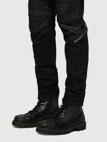 Diesel - D-Strukt Slim Jeans 069TH, Black/Dark Grey - Jeans - Image 5