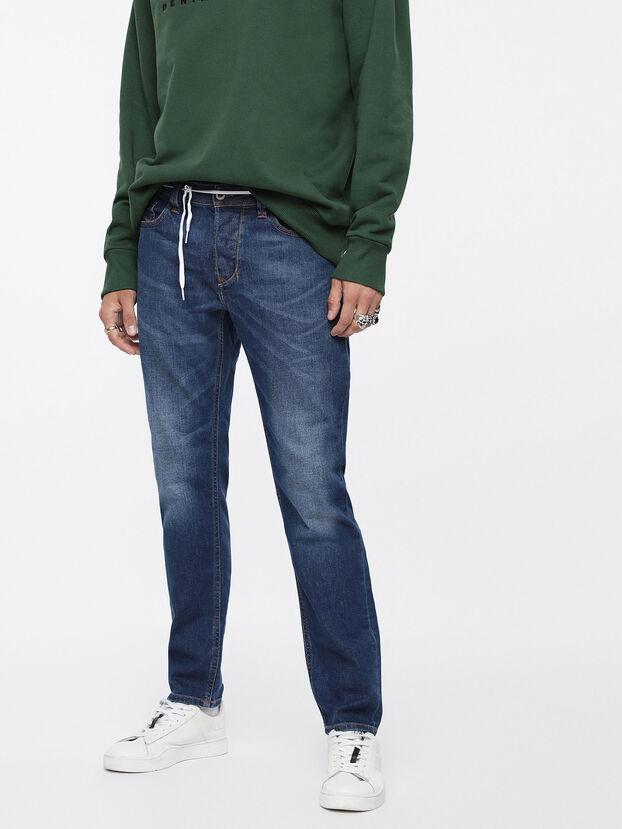 Larkee-Beex 084YI, Dark Blue - Jeans