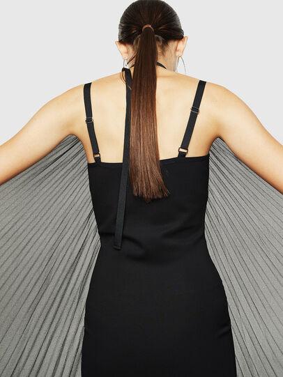 Diesel - D-SOLEIL, Black - Dresses - Image 4
