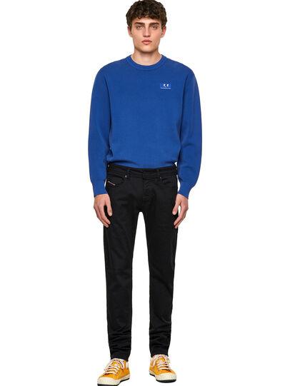 Diesel - Sleenker Skinny Jeans 069EI, Black/Dark Grey - Jeans - Image 5