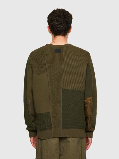 Diesel - K-YUKON, Military Green - Sweaters - Image 2