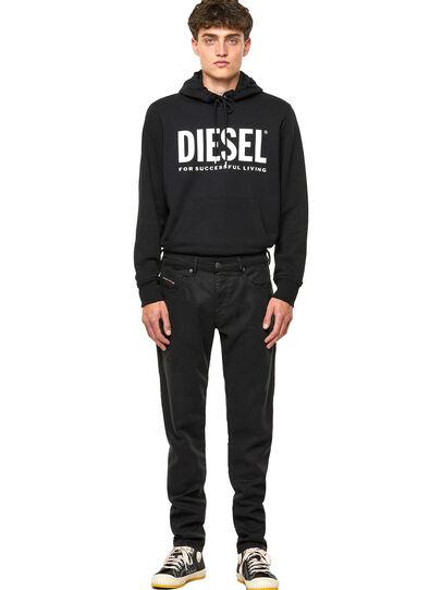 Diesel - D-Strukt Slim JoggJeans® 069NC, Black/Dark Grey - Jeans - Image 5