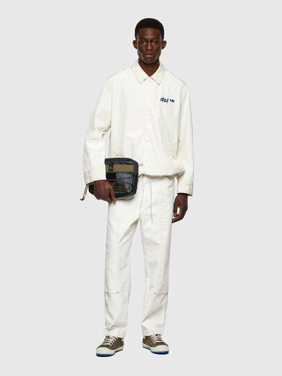 Diesel - D-Franky Straight Jeans 009ZJ, White - Jeans - Image 6