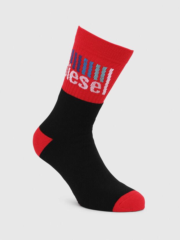 SKM-RAY, Black/Red - Socks