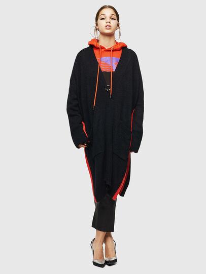 Diesel - M-SURI, Black/Red - Sweaters - Image 6