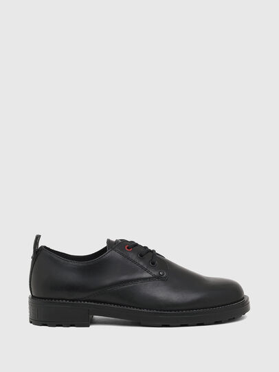 Diesel - D-THROUPER DBS, Black - Lace Ups and Mocassins - Image 1