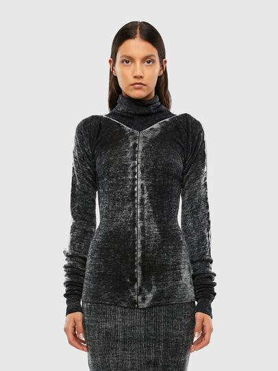 Diesel - M-ISABELLE, Black - Sweaters - Image 1