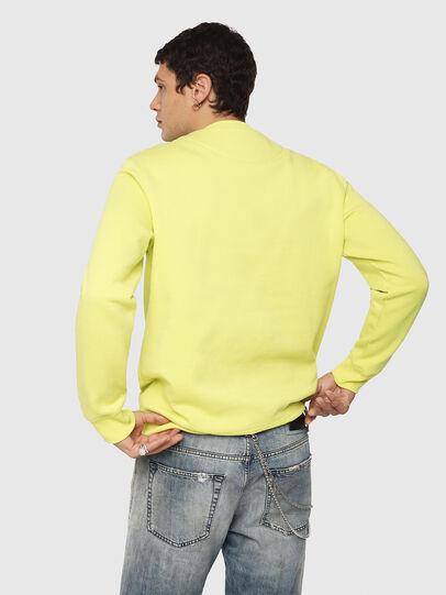 Diesel - S-GIR-Y1, Yellow - Sweatshirts - Image 2