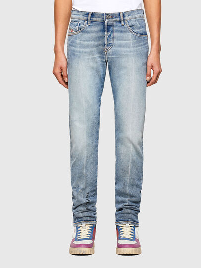 Diesel - D-Kras Slim Jeans 009VW, Light Blue - Jeans - Image 1
