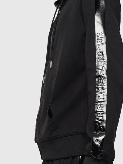 Diesel - S-GIMK-HOOD-J, Black - Sweatshirts - Image 3