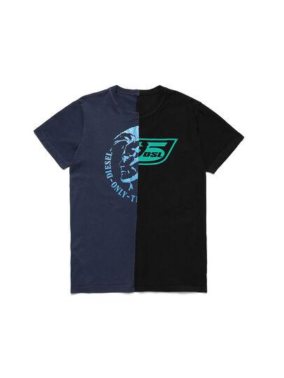 Diesel - D-MESO&MESO, Azul/Negro - Camisetas - Image 1